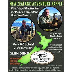 New Zealand Raffle