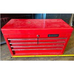 HUSKY BENCH TOP TOOL CHEST W/ CONTENTS
