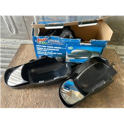 SET OF QUICK ATTACH TOWING MIRRORS
