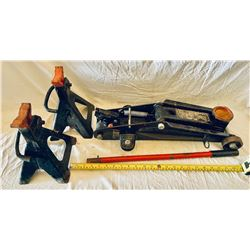 MOTOMASTER FLOOR JACK & AXLE STANDS