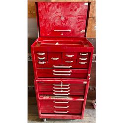 2 PIECE ROLLING TOOL CABINET
