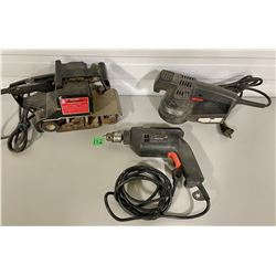 LOT OF 3 POWER TOOLS