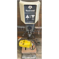 ROCKWELL/BEAVER BENCH TOP DRILL PRESS W/FOOT CONTROL
