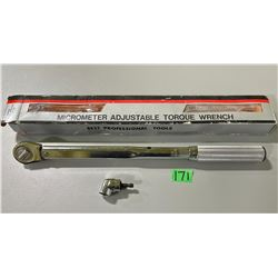 "1/2"" TORQUE WRENCH & ANGLE DRIVER ATTACHMENT"