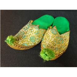 Green Turkish Slippers