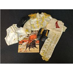 7 Piece Spain Matador Bull Fighter Doll Outfit