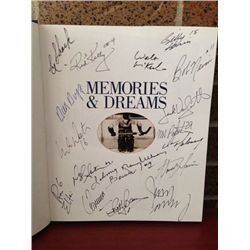 Great MANY DIFFERENT real SIGNATURES: 1931-1999 Memories & Dreams, over 375 pages Printed in Canada