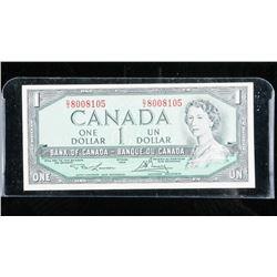 Bank of Canada 1954 1.00 (AU) L/B