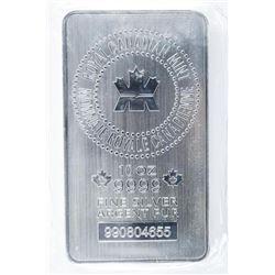 RCM - Collector Bullion .9999 Fine Silver  10oz Bar Serialized
