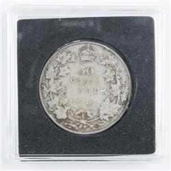 1918 Canada Silver 50 Cents