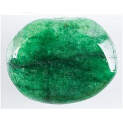 Loose Gemstone 9.42ct Oval Cabochon Cut  Emerald TRV: $2820.00