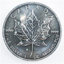 RCM - Maple Leaf $5.00 2012 .999 Fine Silver  1oz