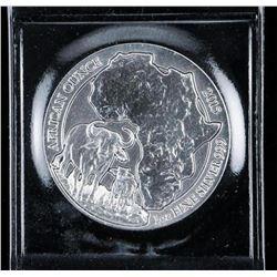 Yu Rwanda 50 Silver Buffalo Coin .999 Fine