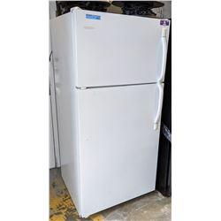 White Frigidaire refrigerator