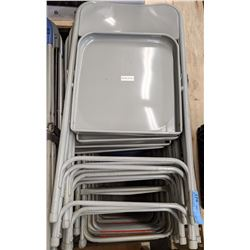 Folding banquet chairs approx 100