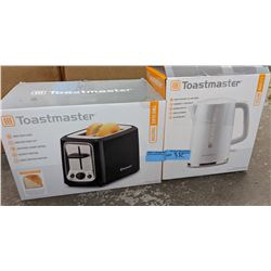 Toaster and kettle