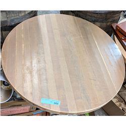 Restaurant round table