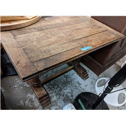 Antique wooden table (approx 4x3)