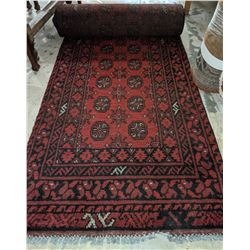 30 in x 14ft Persian hallway runner carpet