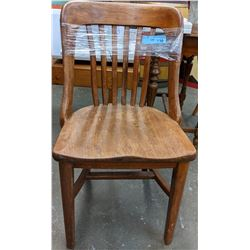 Vintage oak dining chair