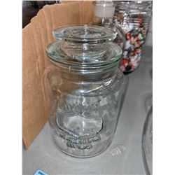 Candy jars glass - props