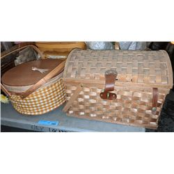 Approx 5 picnic and other baskets