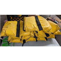 Misc medical items rope bulb and weights sandbags