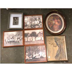 11 Vintage Picture frames
