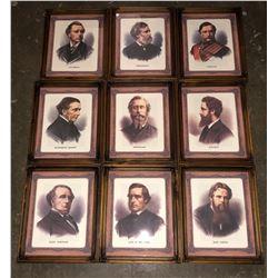 11 Barbershop beard styles from 1880s in frames