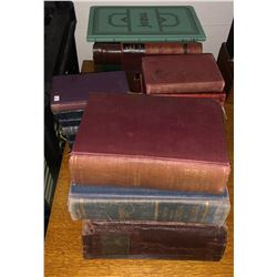 Vintage medical health books and other assorted books