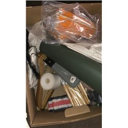4 boxes of vintage and misc items