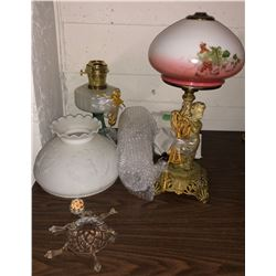 Vintage and other lamps