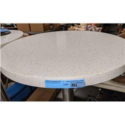 Quartz top bar height table