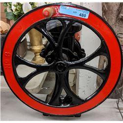Restored antique grinder