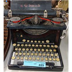 Antique LC Smith typewriter