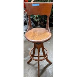 Antique wooden stool