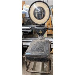 """Antique Toledo Meat Scale (73""""high x 25"""" wide x 39"""" Long)"""