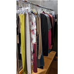 Rack off t-shirts jeans dress pants full sleeve T-shirts sweaters including rack on wheels
