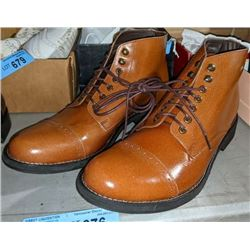 Pair of  brown Oak Tree Boots