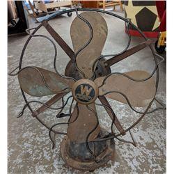 Antique Westinghouse electric fan