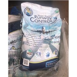 Airplane grade ice melter - 7 bags, 55lb each