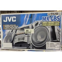 JVC MX-GB5 Compact Component Sound System - brand new in box