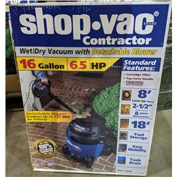 Shop Vac Contractor Wet/Dry vacuum with detachable blower