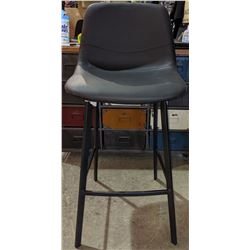 "Black bar stool 29"" height - brand new in box"