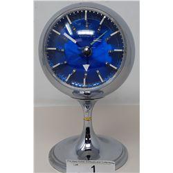 1960S Blue Faced Clock
