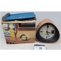 Panasonic Clock Radio In Original Box