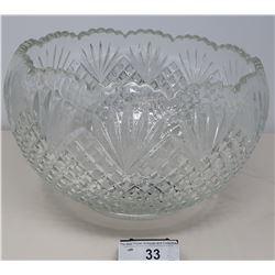 Large Crystal Bowl