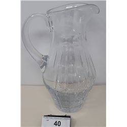 High Quality Crystal Water Pitcher Vintage