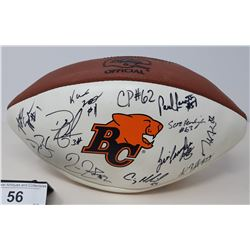 Signed Bc Lions Football