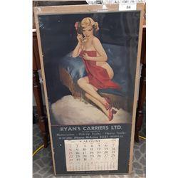Original Vancouver Calendar Ryan'S Carrier Limited